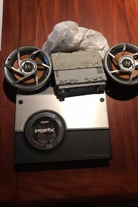 Car audio speakers & amp