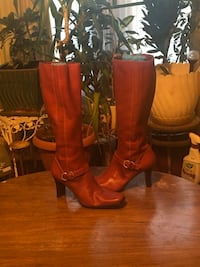 Anne Klein Leather Boots Catonsville