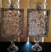 Diamond Filled Candle Holders Camp Springs