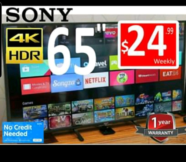 """NEW 65"""" TV OLED SONY 4K HDR WARRANTY 1YEAR  1e49af0a-882c-42bc-9a43-ccc3d0226a09"""