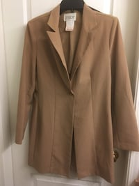 Jessica long button up overcoat
