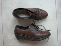 """Woman leather shoes """"RIEKER"""" anti stress shoes. Newmarket"""