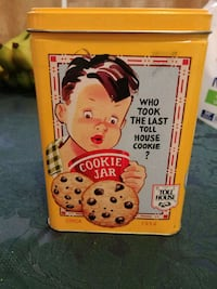 Toll house cookie tin Guelph, N1E 3V4