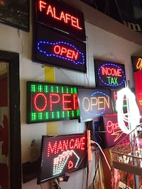 LED OPEN signs new few styles/sizes Toronto, M3J 2X8
