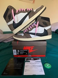 Jordan 1 Travis Scott size 10 Woodbridge, 22192