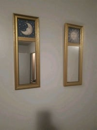 baby framed wall mirror decor  Hamilton, L8W 1E7