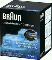 Braun Clean & Renew Refill Cartridges  Herndon, 20170