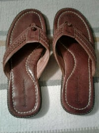 Tommy Bahama Men's Size 10M leather sandals Manteca