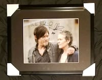 Carol & Daryl Signed Photo Framed w/COA  Caledon, L7E 2X9