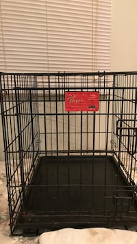 black metal folding dog crate Frederick, 21701