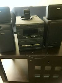 black and gray home theater system Westminster, 92683