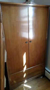 brown wooden wardrobe Allentown, 18103