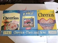 New . Cheerios then and now lone ranger set .  Midland, 79707
