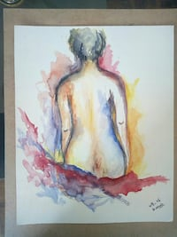 back naked human painting Mississauga, L5A 3P8