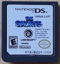 Nintendo DS... The Smurfs... $5 Firm...