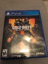 New Black Ops 4 for PS4 Fort Worth, 76109