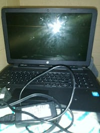 black laptop computer with AC adapter Norfolk, 23504