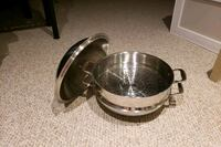 Stainless steel steamer and pan Aurora, L4G 5R3