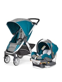 Baby's blue and black travel system Lorton, 22079