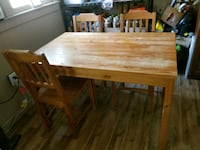 Kitchen table with 4 chairs Chapin, 29036