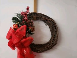 "12"" CHRISTMAS WREATH WITH DRUMS"
