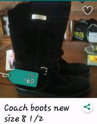 pair of black leather boots screenshot Hollister, 95023