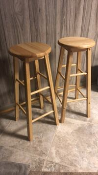 (6) Wooden Bar Stools Bel Air, 21014