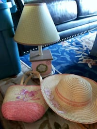 Girl's accessories Lamp with built in night light! Edmonton, T5J 3M5