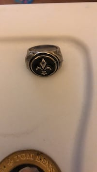 Saints ring and Tom Benson Coin Metairie, 70001