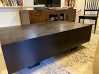 Coffee table (solid wood) with storage Stamford, 06902