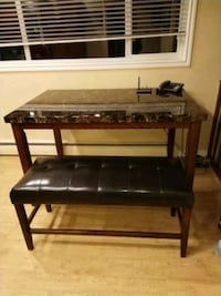 Dining table. Bench is sold.