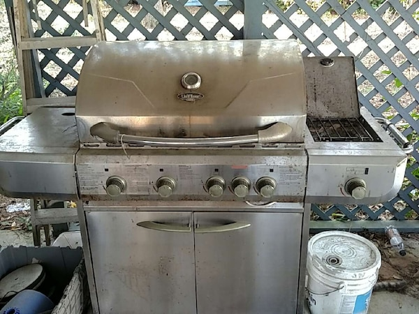 Used Stainless Steel Gas Grill Price Cut To For In Picayune Letgo
