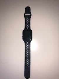 black Apple watch with black sports band Fort Belvoir, 22060