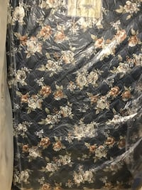 black and brown floral mattress 541 km