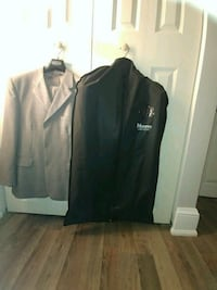 two suits 1 black armani an 1 gray suit  Welland, L3B 4M4
