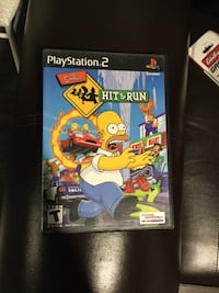 Simpsons hit and run for playstation 2 Cambridge, N1T 1Z9