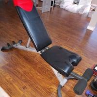 black and gray bench press Laval, H7X 3K3
