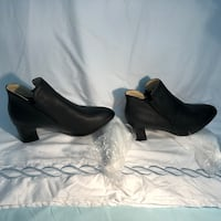 Warm autum/winter ankle boots with heels available in different sizes Toronto