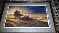 Terry Redlin print For Amber Waves of Grain Minneapolis, 55444