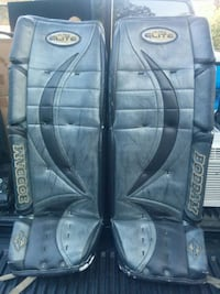 "Goalie pads. Size 36"" Excellent shape"