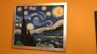 Van Gogh prints custom framed