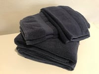 Navy JC Penny Towel Set of 6 (bath, hand and face towel) Poway, 92064