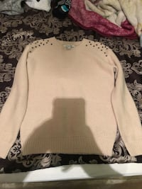 Tan sweater with studs on the shoulders Laredo, 78046
