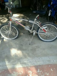 Silver and red BMX bike Fresno, 93705