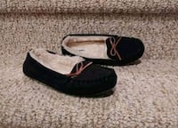New Women's Size 7 Old Navy Mocassin Shoes Outdoor , Black Woodbridge, 22193