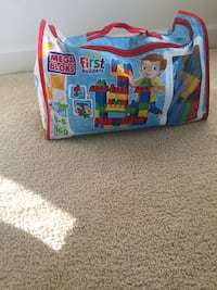 blue and red Paw Patrol print bed frame Falls Church, 22042