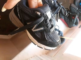 2 pair of Baby new balances size 4c
