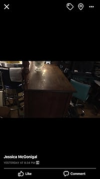black wooden table with chairs Baltimore, 21230