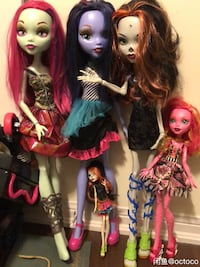 Monster high 27 inches  Toronto, M5V 0K2