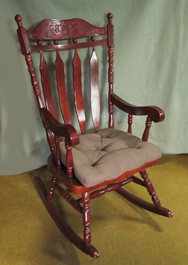 half off 41b56 d8a27 Solid oak rocking chair